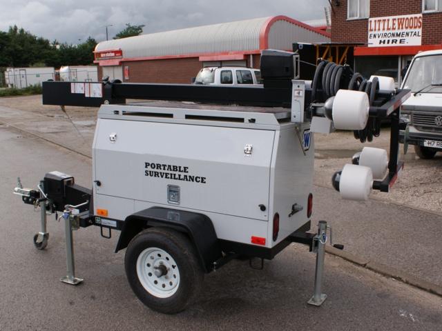 Portable Cctv Trailer : Photos of our mobile portable cctv trailer for temporary